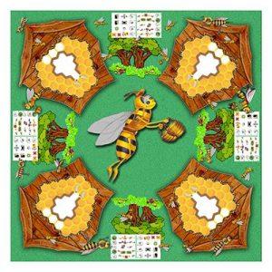 plateau du jeu panique dans la ruche