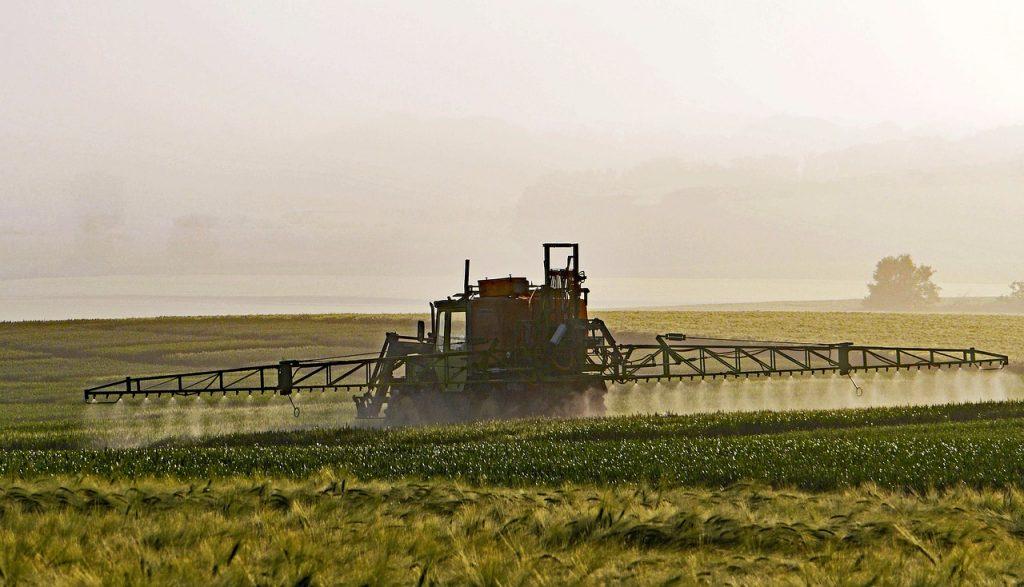 pulvérisation de produits phytosanitaires